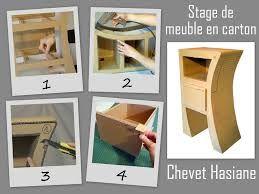 tutoriel meuble en carton patron