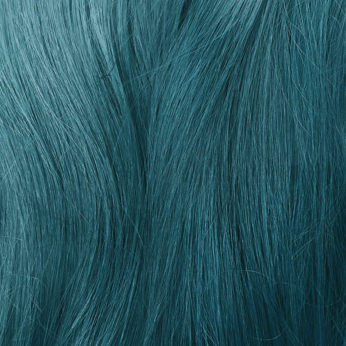 Unicorn hair dye sample dirty mermaid seafoam green vegan cruelty