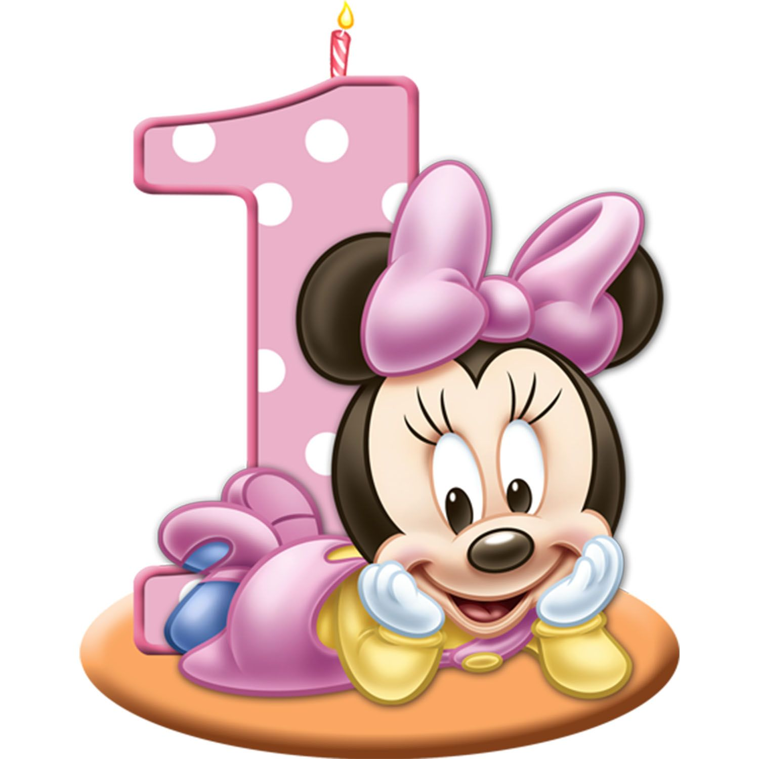 Free Coloring Pages Fruit Basket Minnie Mouse First Birthday