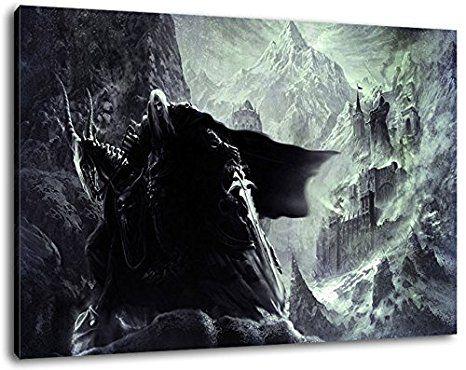 Gerahmte Bilder Wohnzimmer ~ Dark world of warcraft format cm fertig gerahmte