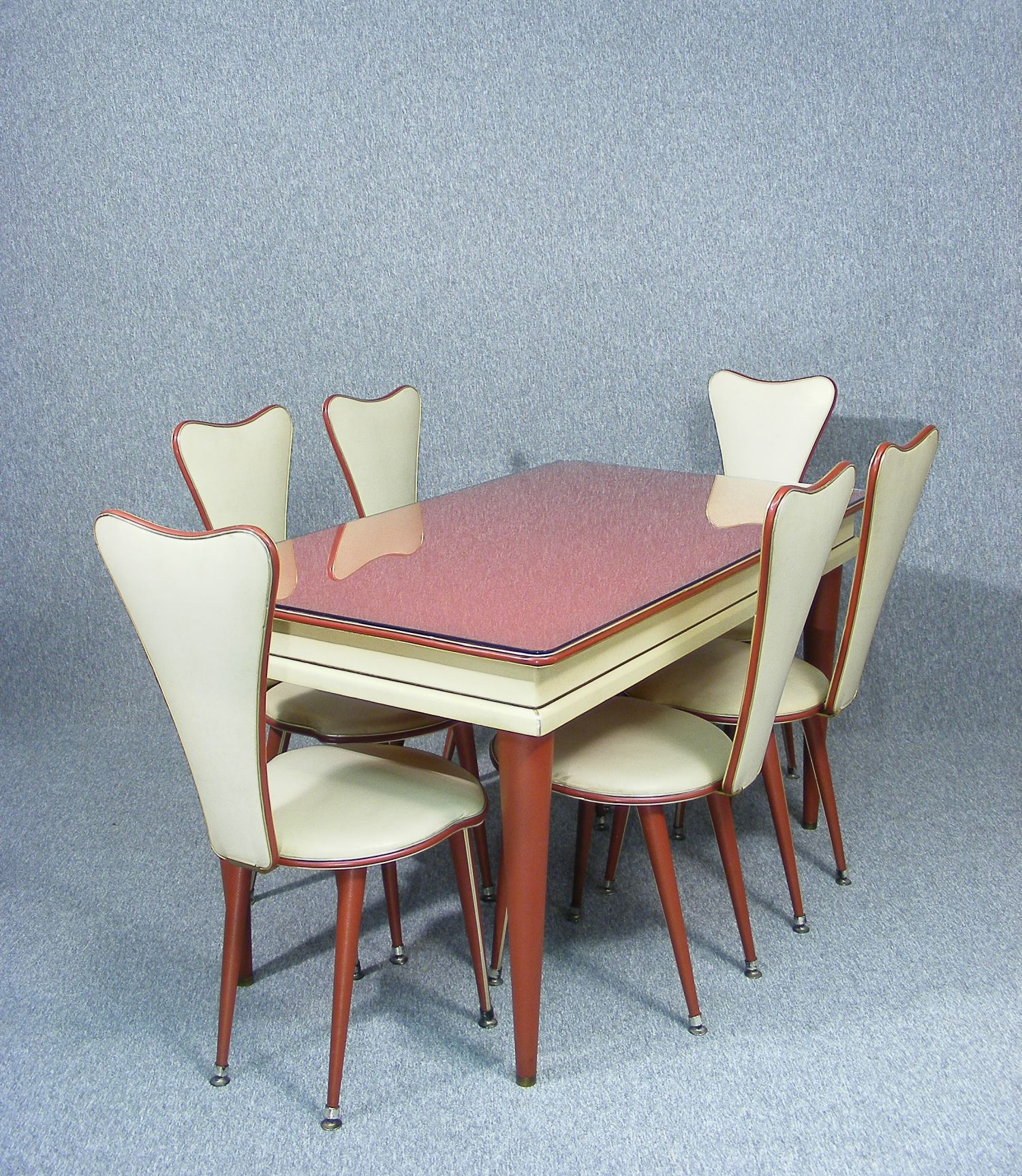 This Is A Wonderful Iconic 1950 S Dining Table And Chairs Designed