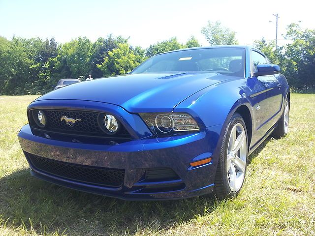 2013 Ford Mustang Gt Deep Impact Blue For Sale   Ford Mustang Car