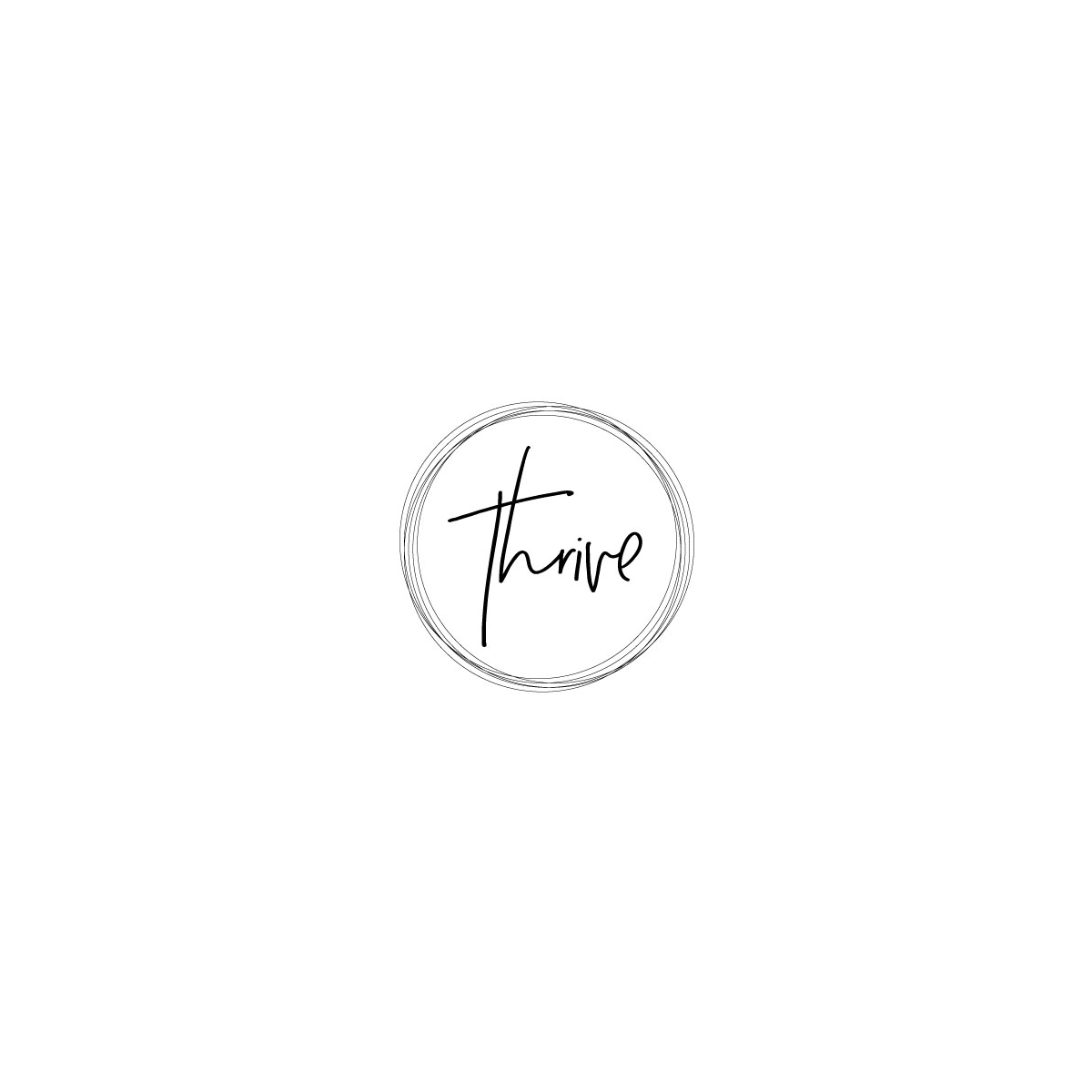 Thrive logo by nuliser (personal coaching logo, life ...