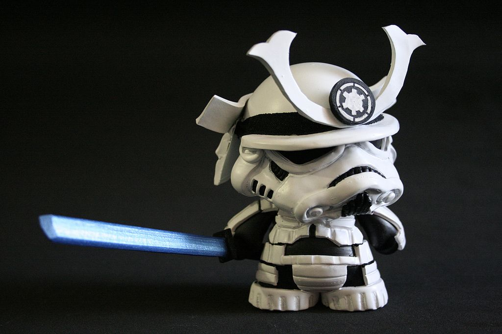 Stormtrooper Samurai Custom Munny Designs