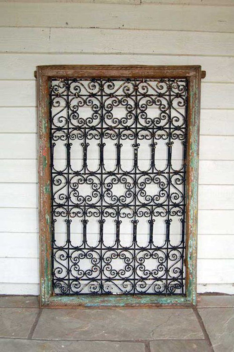 Moroccan Wrought Iron Window Grills 9