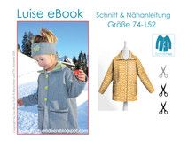 eBook & Nähanleitung Kindermantel (Größe 74-152)