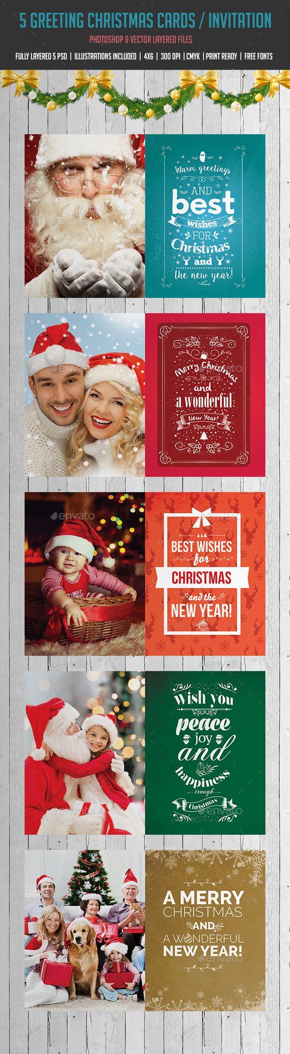 Christmas Card Family Christmas Greeting Card Template Christmas Cards Christmas Card Template