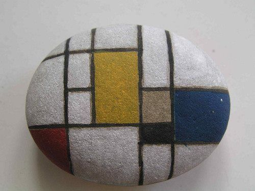 Photo of Cool Rock painting inspired by famous artists Cool Paintings Rocks
