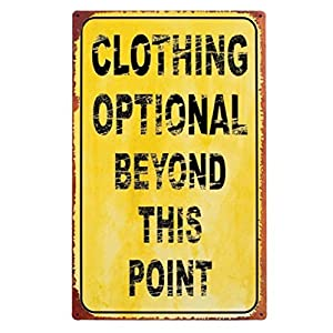 Funny Pool Signs Funny Swimming Pool Signs Funny Signs Clothing Optional Man Cave Signs