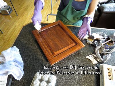 Best Diy Kitchen Transformation On The Cheap Cost Of Kitchen 400 x 300