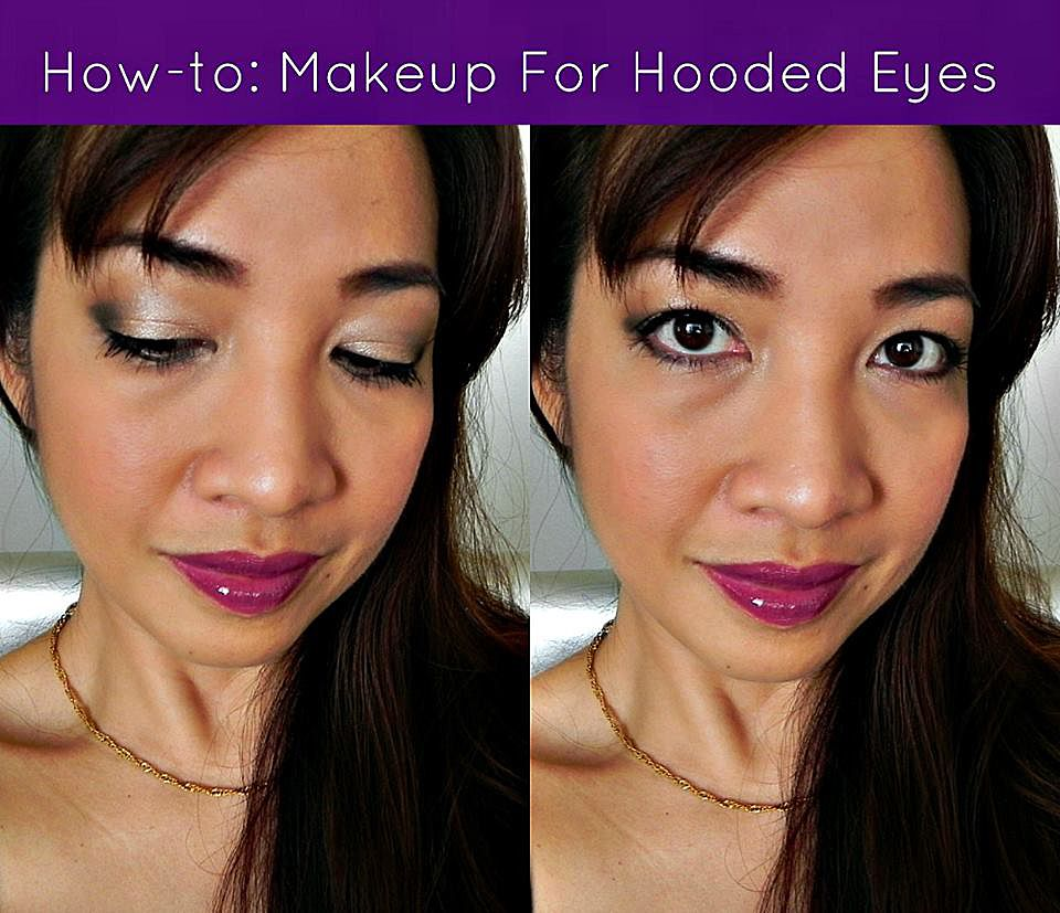 From moxie reviews makeup for hooded eyes makeup for every eye makeup tutorial for hooded eyes lids appear smaller because of the extra layer of skin that droops over the crease baditri Image collections