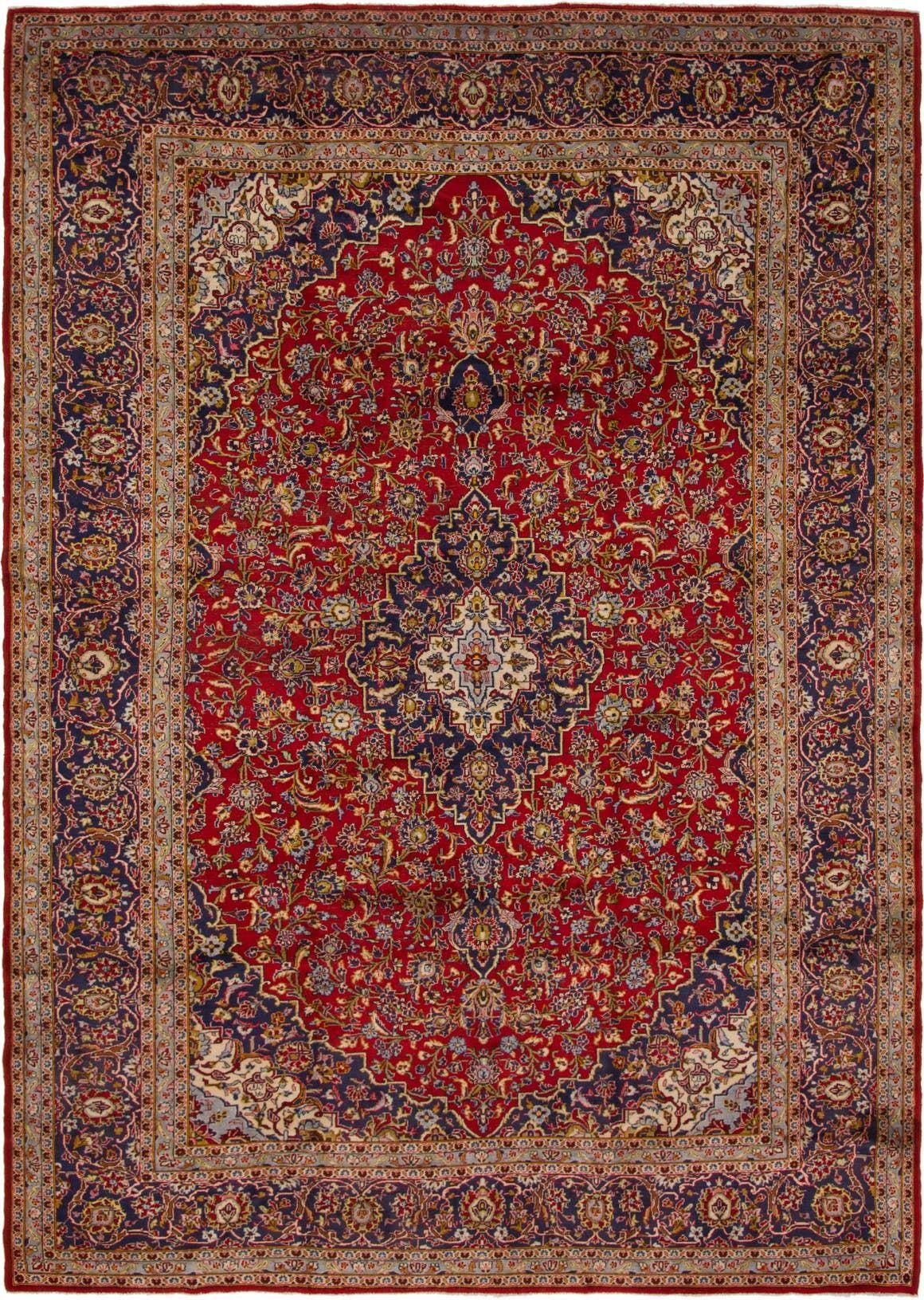 Kashan Red Antique 10x14 Area Rug In 2020 Rugs Antique Persian Carpet Kashan Rug
