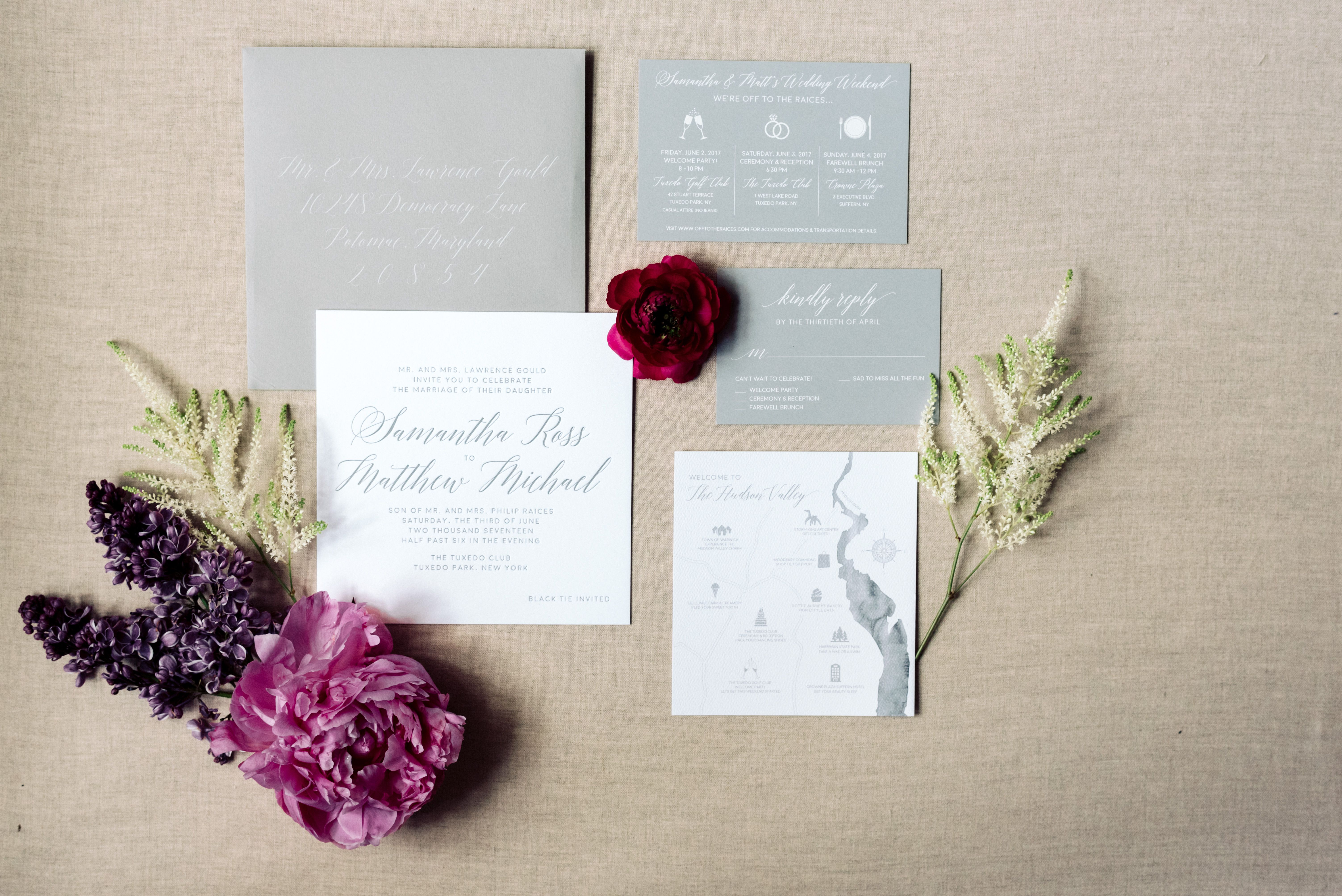 Tuxedo Wedding Invitations - Wedding Invitations
