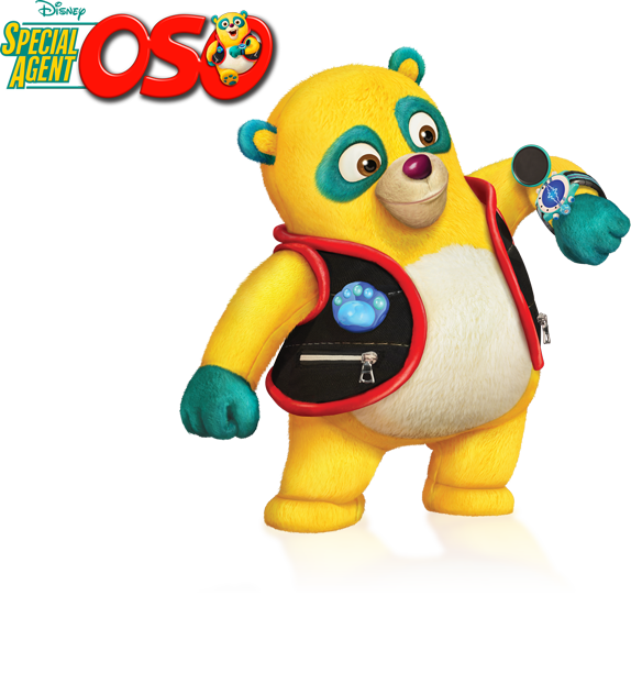 Special Agent Oso helps kids learn the importance of