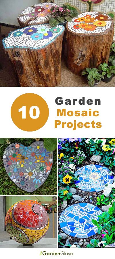 Creative DIY Mosaic Garden Projects in 2018 | TGG • DIY Garden Ideas ...