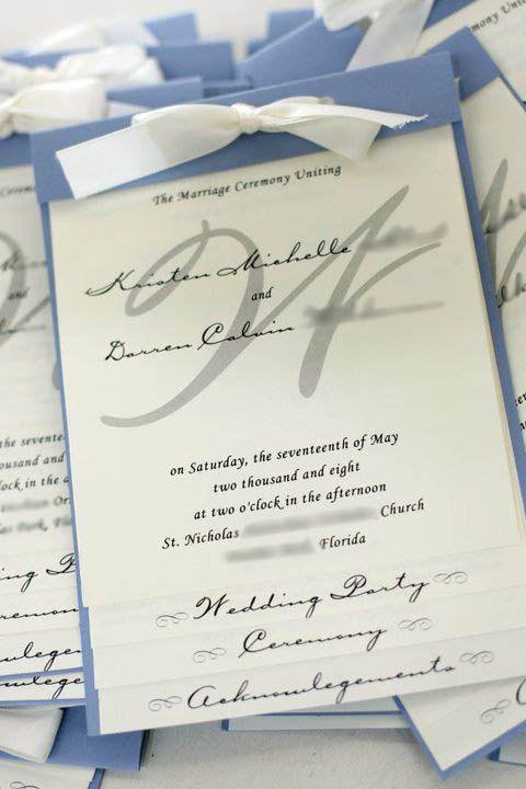 Layered Wedding Program Wedding Programs Program Ideas Wedding