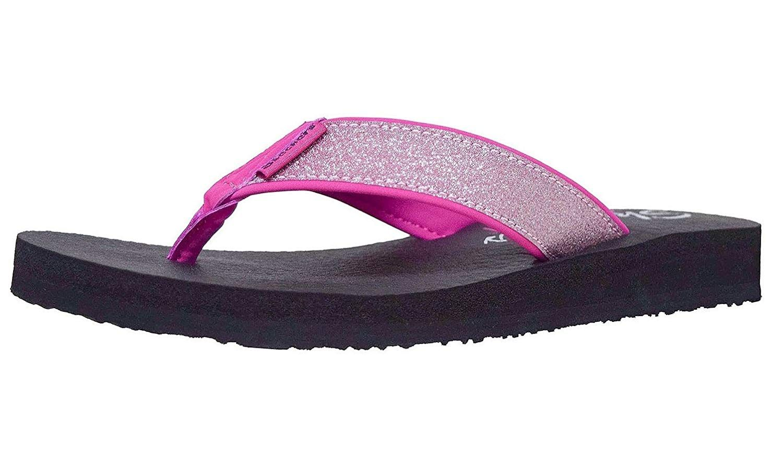 Skechers Women's Meditation Unicorn Dust Flip Flop You