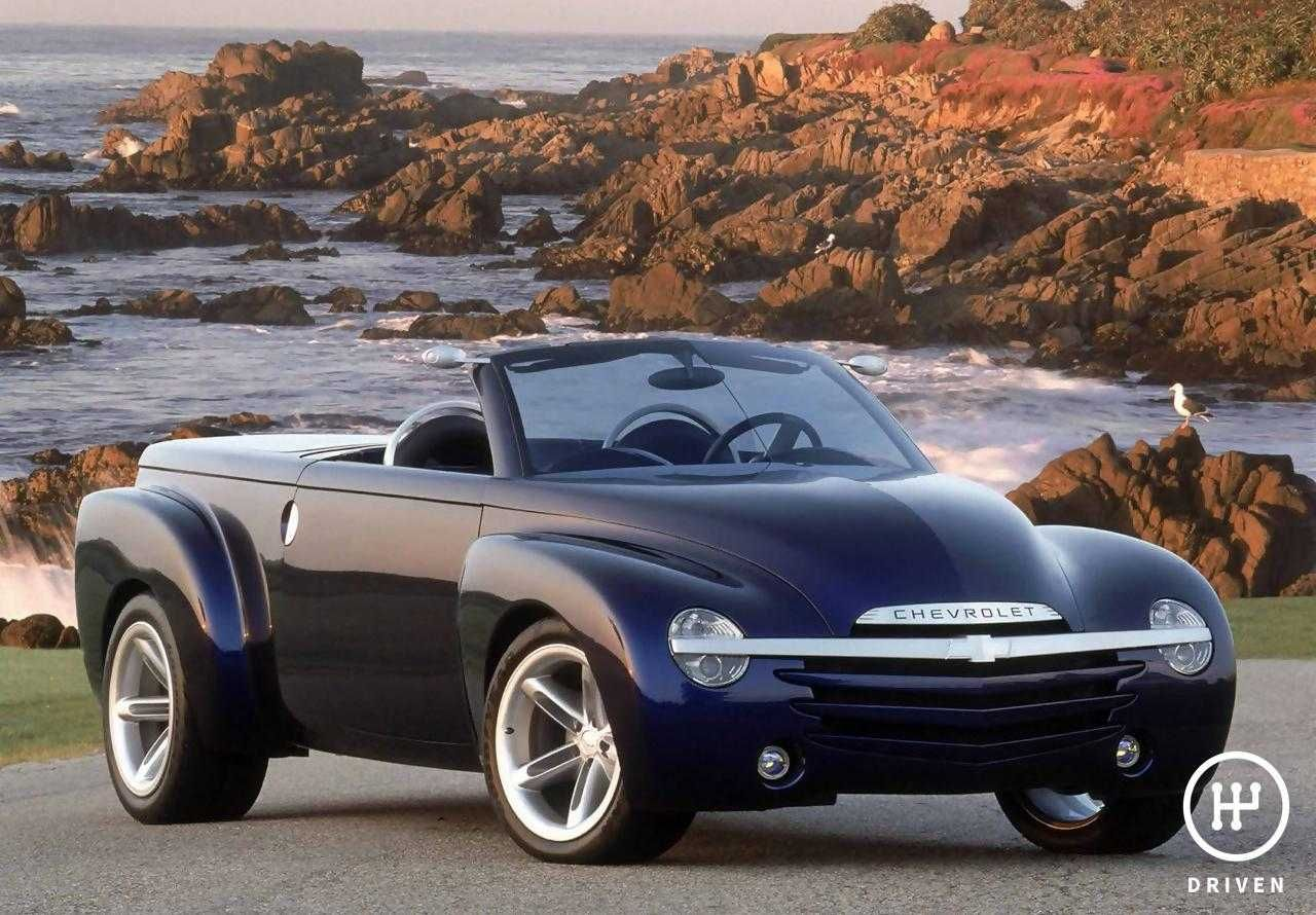 Chevrolet 2000 Ssr Concept Technical Features Pictures