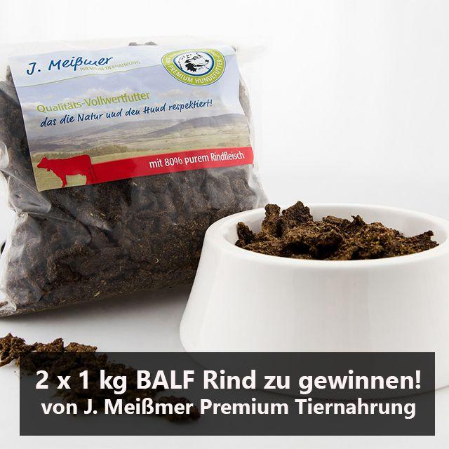 12. Dezember – 2 x 1kg BALF mit Rind von J. Meißmer Premium Tiernahrung