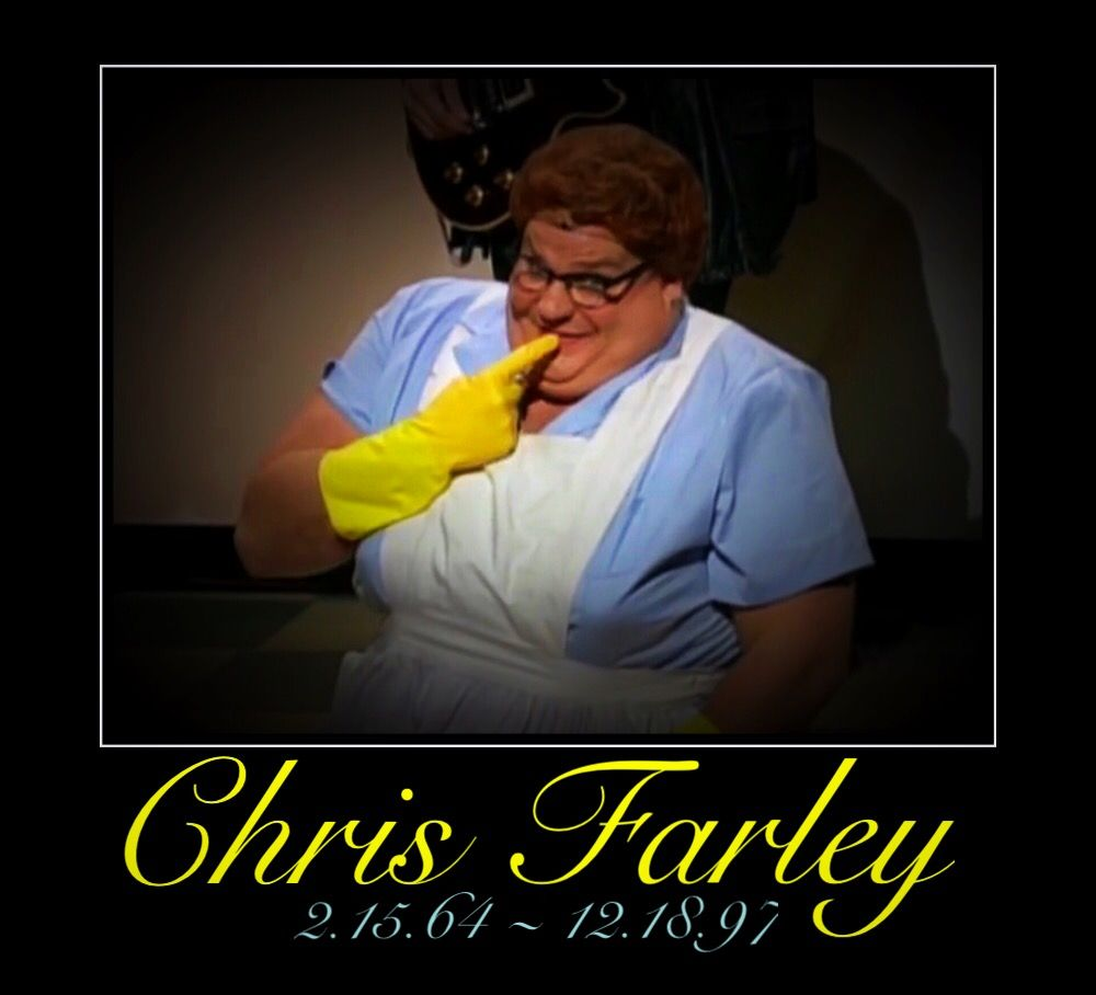 Chris Farley. An overdose is still suicide. :(