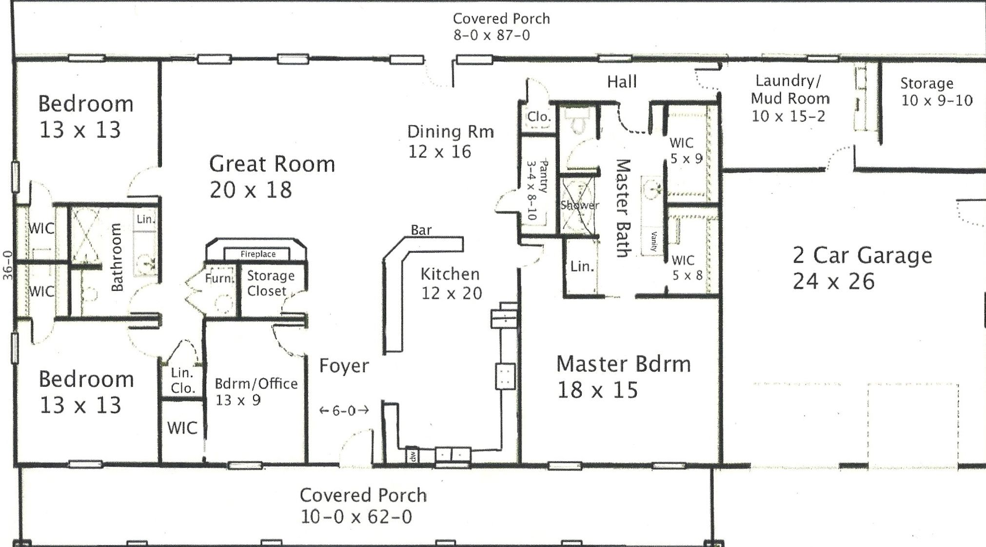 Exciting barndominium floor plans for inspiring your home for Building a house layout