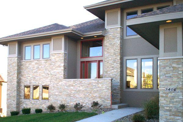 Modern Exterior Charm Stone Veneer