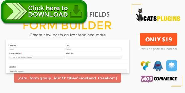 Free nulled ACF Form Builder - Multipurpose Frontend Form ...