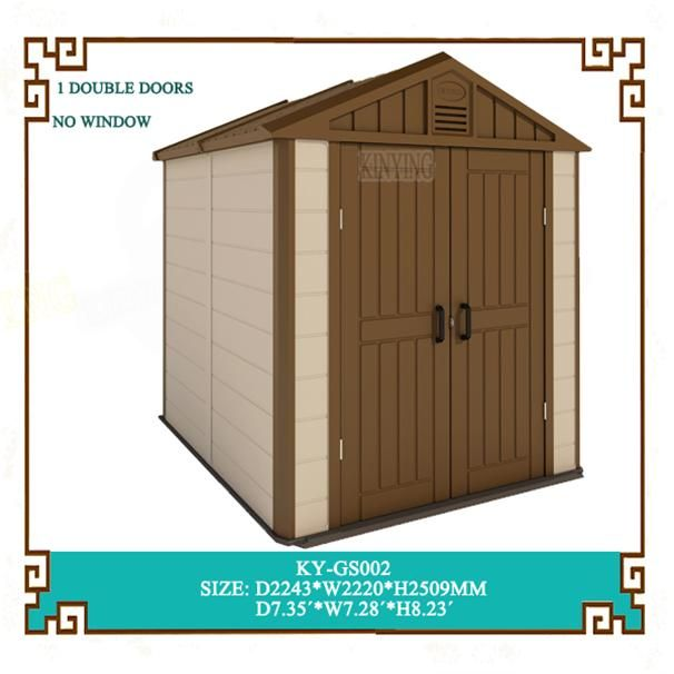 KINYING is the market leader manufacturer of plastic shed in China http://www.kinyinggroup.com/plastic-sheds/resin-outdoor-shed.html
