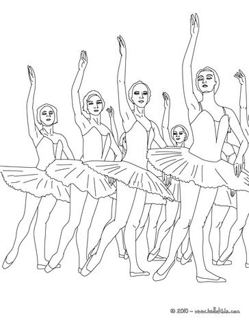 ballet show coloring page warm up your imagination and color nicely this ballet show coloring page from dance coloring pages - Dancing Pictures To Colour