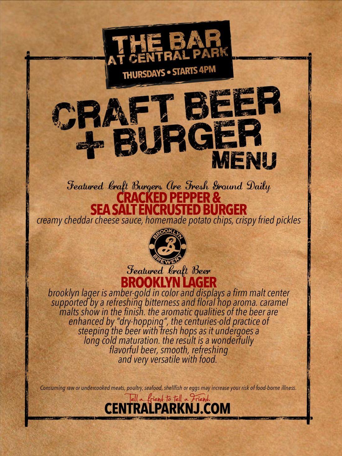 craft beer menu Google Search – Beer Menu