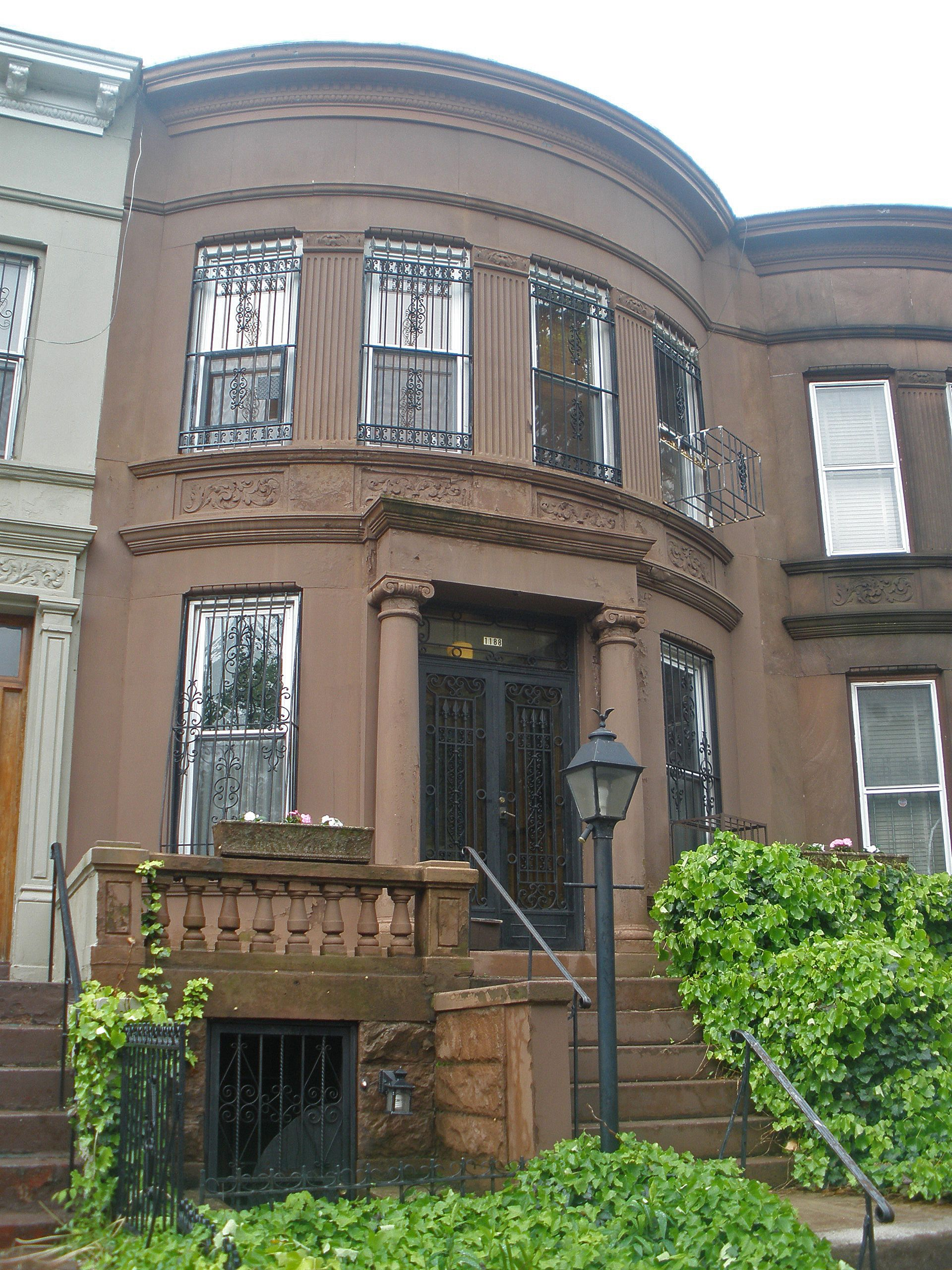 Brownstone house turn of the century brownstone row for New york city brownstone for sale