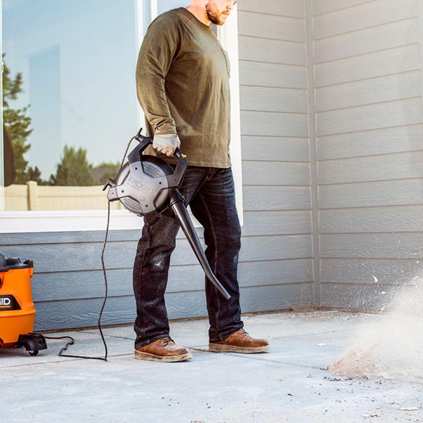 Ridgid 16 Gal 6 5 Peak Hp Nxt Wet Dry Shop Vacuum With Detachable Blower Filter Dust Bags Hose And Accessories Hd1600b In 2020 Shop Vacuum Backpack Vacuum Blowers