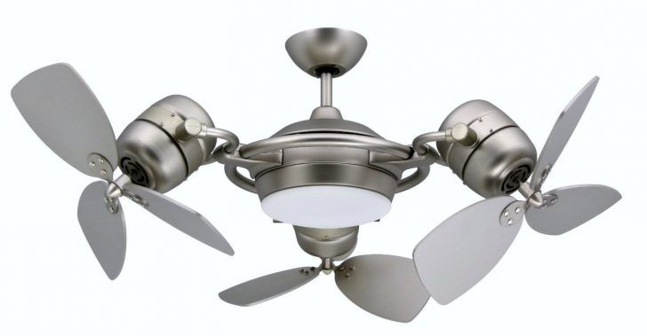 Room Design Ceiling Fans That Look Like Boat Propellers With Three Part Side And Combined Silver Color An Unique Ceiling Fans Fan Light Ceiling Fan With Light