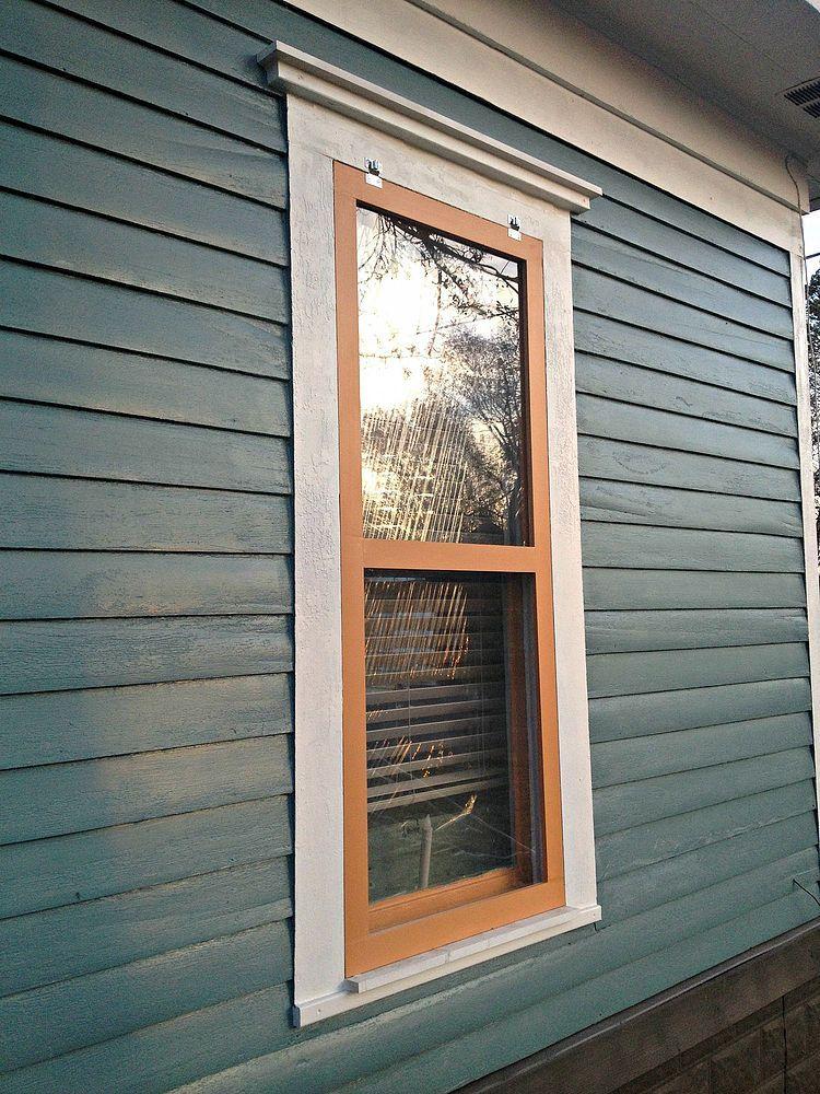 DIY Storm Windows Windows, Window repair, Basement