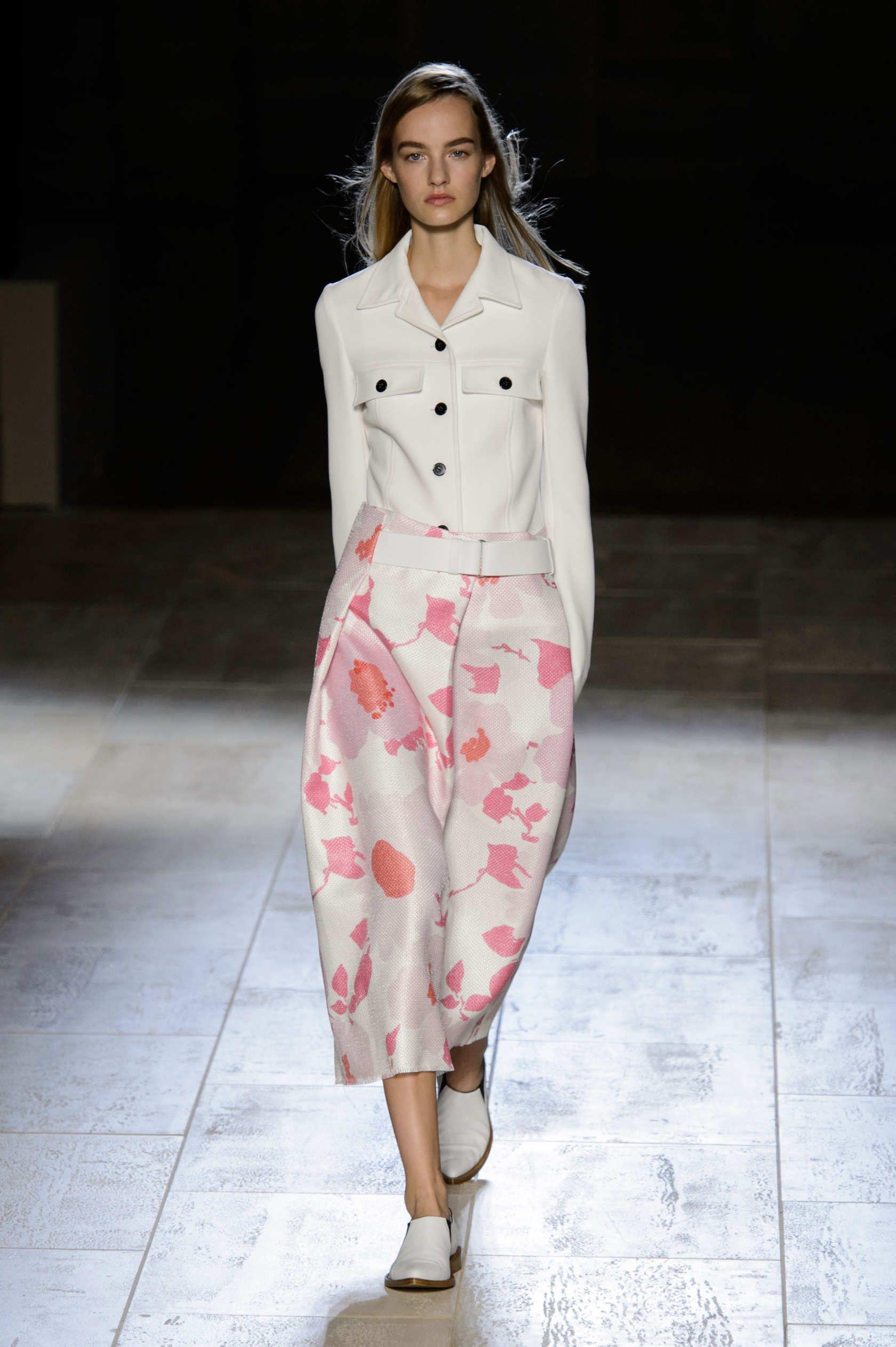 Victoria Beckham Ny fashion week, Runway fashion