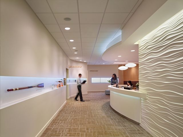 interior design hospital design health center healthcare design design