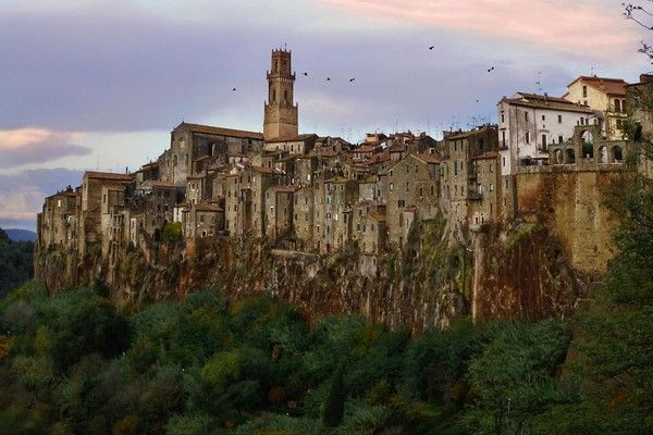 Pitigliano, Grosseto, Toscana, Italy