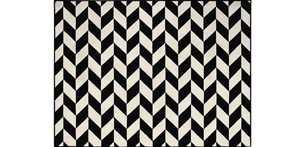 Black and White | Tapetes Desenhados