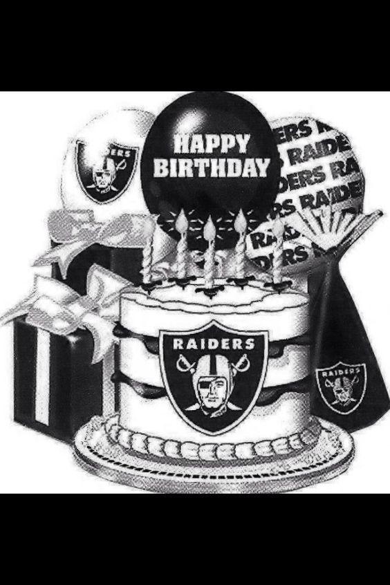 happy birthday raiders Pin by Diana on Tags  Happy Birthday | Raiders, Raider nation  happy birthday raiders