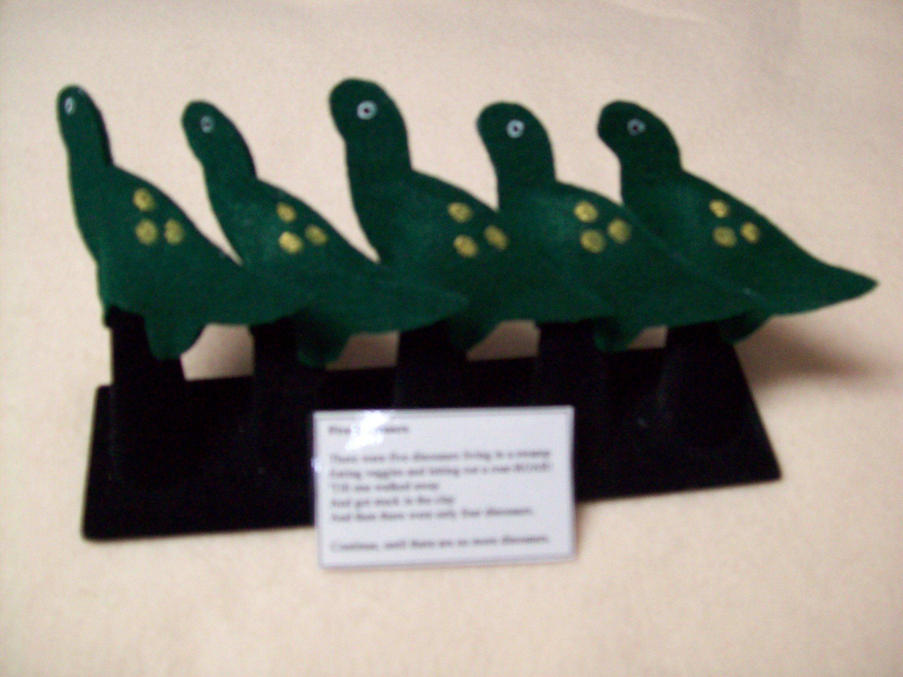 Five Little Dinosaurs 3 50
