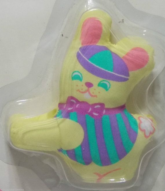 Vintage 1981 Avon Bunny Notes Musical ClipOn by DianesBargainShack, $14.00