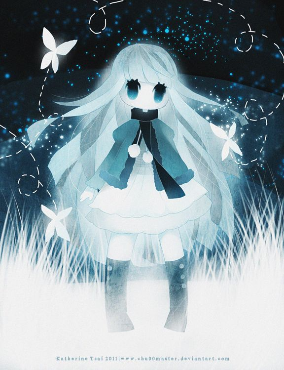 Ghost Girl By Chuwenjie On Deviantart Anime Ghost Anime Cute Art