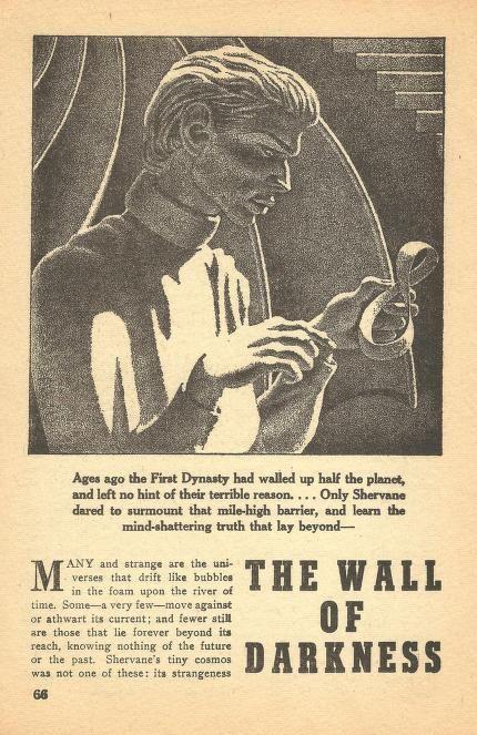 Billedresultat for the wall in darkness arthur c clarke