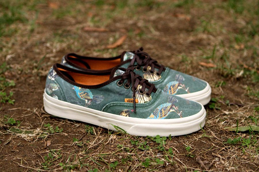 13670a4623 Vans California Authentic  Birds Pack  Now Available