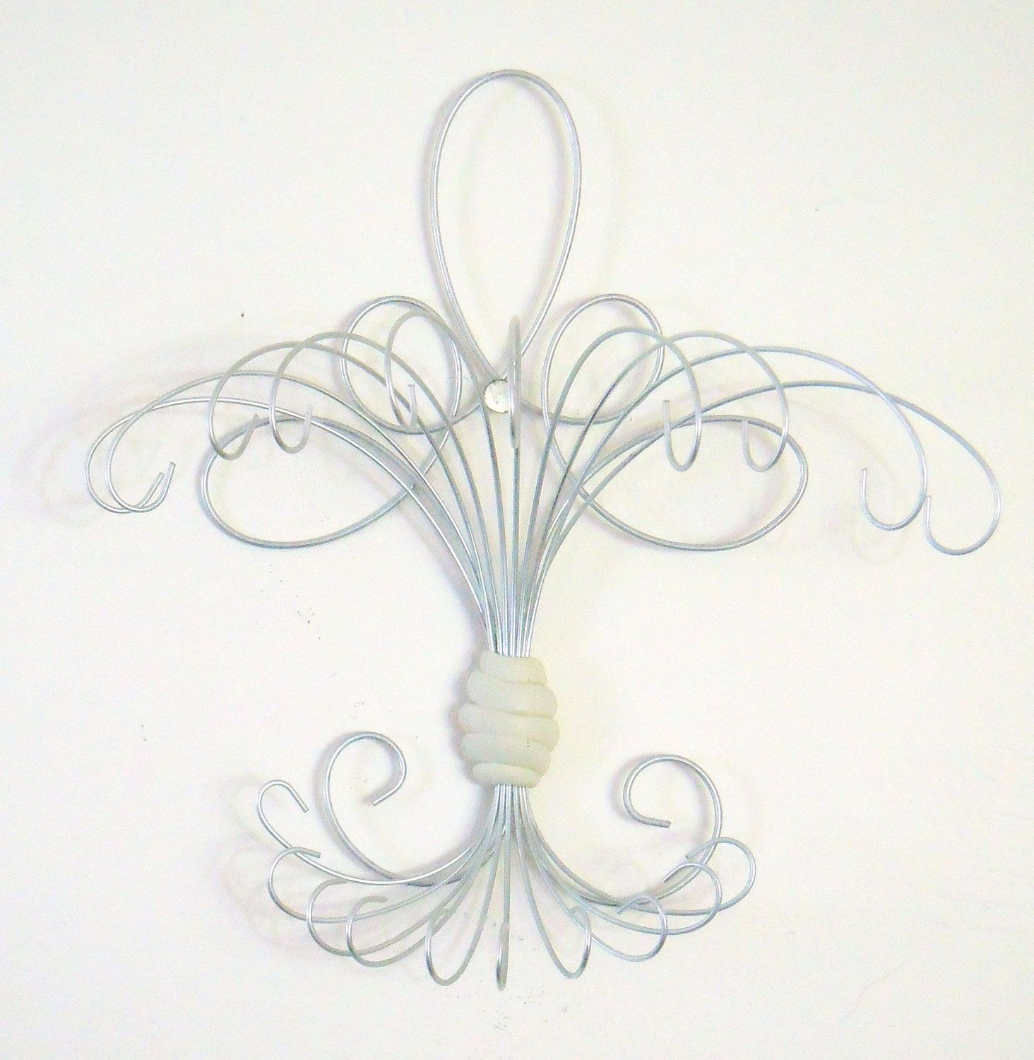 Jewelry Hanger Vertical Loop De Design 25 Wire Wrapped Wiring A Light Fixture On