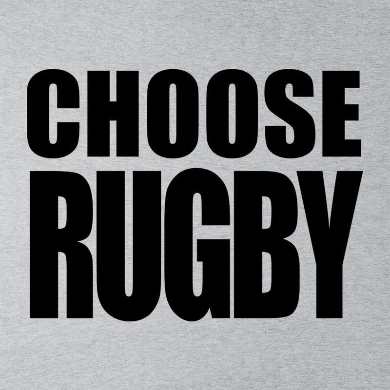 Choose Rugby All Black Logo Six Nations Men's T-Shirt