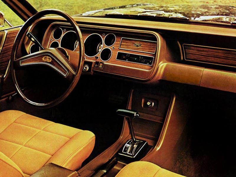 Ford Granada Mk1 1973 Interior Voiture Tableau De Bord