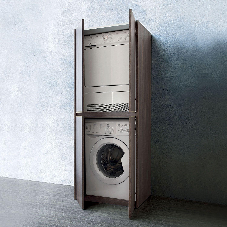 Lavatrice Ed Asciugatrice Sovrapposte colonna lavanderia blizzard (con immagini) | arredamento