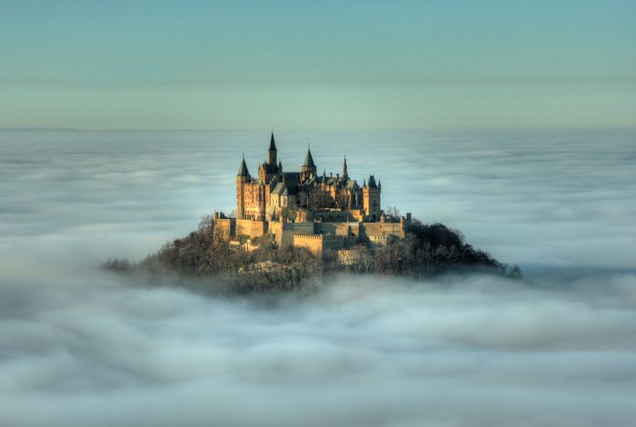 The Hohenzollern Castle, Germany #castles