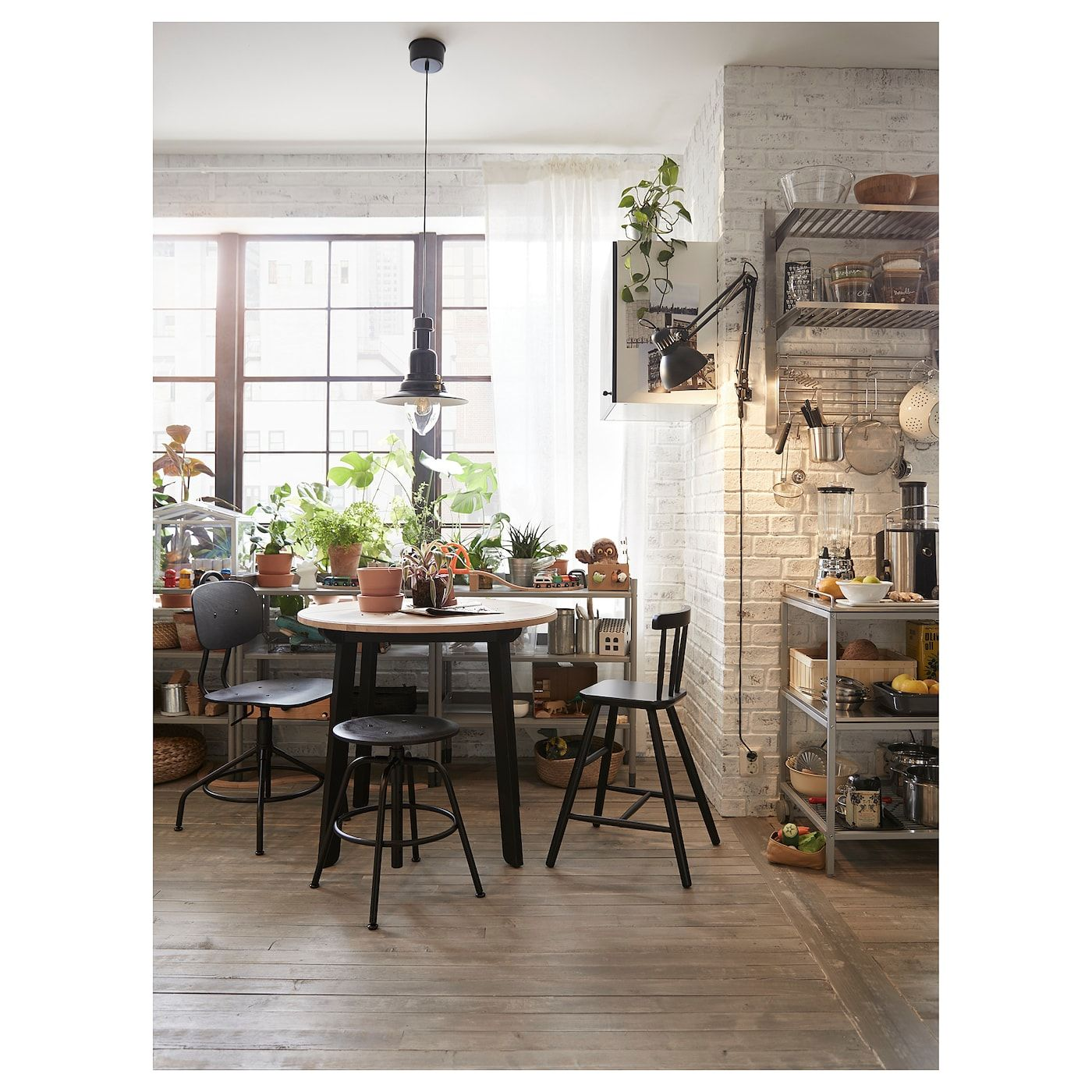 Photos Of Table En A Manger S Ingatorp Ikea Round Ausklang